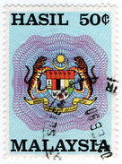 (I.B) Malaysia Revenue : General Duty 50c - Great Britain (former Colonies & Protectorates)