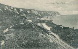 Folkestone 1921; The Warren (train) - Circulated. - Folkestone