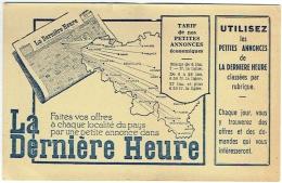 Carte Publicité/Calendrier. La Dernière Heure. 1948. - Calendriers