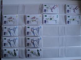 12 Tamura Phonecards From Australia -  Sport - Australia
