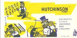 Buvard HUTCHINSON à L'Aigle Courroix Tuyaux Caoutchouc Pour L'industrie - Automotive