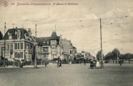BELGIQUE - BRUXELLES - Cinquantenaire - L'Avenue De Tervueren. (n°135). - Lanen, Boulevards