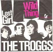 45T EP The TROGGS Hansa 18940 Lost Girl & Wild Thing Pression Allemagne - Rock