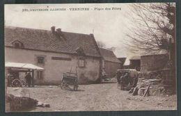 Puy De Dôme. Vernines, Place Des Fêtes - France