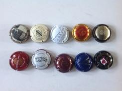 Cap. 35. Lot De 10 Capsules Différentes. - Champagne