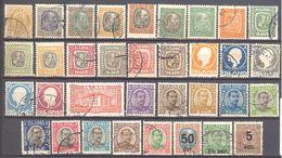 Islande: Lot De 34 Valeurs à Voir - Collections, Lots & Séries
