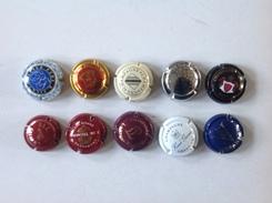 Cap. 36. Lot De 10 Capsules Différentes. - Champagne