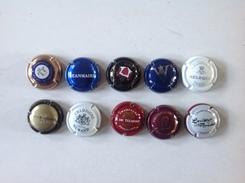 Cap. 39.   Lot De 10 Capsules Différentes. - Champagne