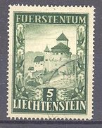 Liechtenstein: Yvert N° 272°; Château De Vaduz - Liechtenstein