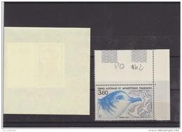 TAAF PO 142 - Terres Australes Et Antarctiques Françaises (TAAF)