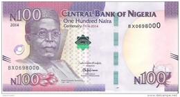 Nigeria - Pick 41 - 100 Naira 2014 - Unc - Commemorative - Nigeria