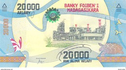 Madagascar - Pick New - 20.000 (20000) Ariary 2017 - Unc - Madagascar