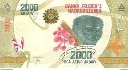 Madagascar - Pick New - 2000 Ariary 2017 - Unc - Madagascar