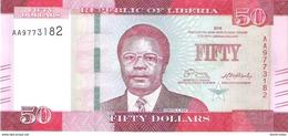 Liberia - Pick 34 - 50 Dollars 2016 - Unc - Liberia