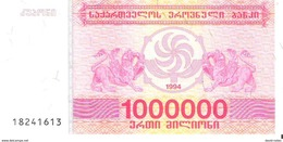 Georgia - Pick 52 - 1.000.000 (1000000) Laris 1994 - Unc - Géorgie