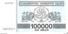 Georgia - Pick 48A - 100.000 (100000) Laris 1994 - Unc - Géorgie