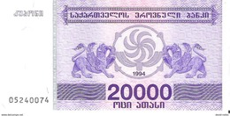 Georgia - Pick 46b - 20.000 (20000) Laris 1994 - Unc - Géorgie