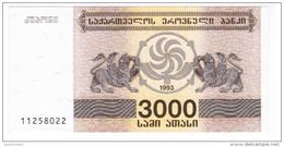 Georgia - Pick 45 - 3000 Laris 1993 - Unc - Géorgie