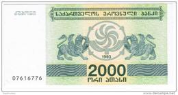 Georgia - Pick 44 - 2000 Laris 1993 - Unc - Géorgie