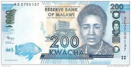 Malawi - Pick 60 - 200 Kwacha 2012 - Unc - Malawi