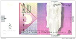 Macedonia - Pick 14f - 10 Denari 2006 - Unc - Macédoine