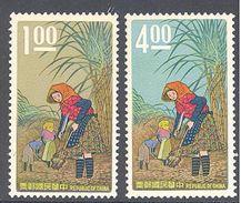 Formose: Yvert N° 597/598**; MNH; Sucre De Canne - 1945-... République De Chine