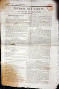 ARCHITECTURE  ARC DE TRIOMPHE ARRET DES TRAVAUX DE CONSTRUCTION EN 1816 !!!!! - Zeitungen