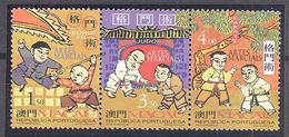 Macao: Yvert N° 885/887**; MNH; Arts Martiaux - Macao