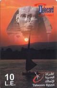 TARJETA TELEFONICA DE EGIPTO (PREPAGO) (373) - Egipto