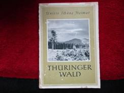 Thüringer Wald (Franz Hammer) éditions De 1959 - Livres, BD, Revues
