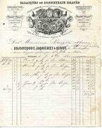 Fabrique De Bonneterie Drapée, Ets DUJONCQUOY-JACQUEMET-BIGOT, à PUSSAY Et VILLE LEBRUN, 1882 - Textile & Vestimentaire