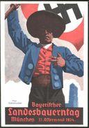 Farbige Propaganda-Karte, Ungebraucht, SELTEN !!! - Guerre 1939-45