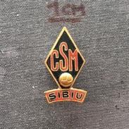 Badge (Pin) ZN005935 - Volleyball Romania CSM Sibiu - Volleyball