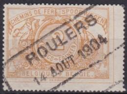 Belgie     .      OBP    .   SP   .    27         .          O                  .    Gebruikt  .   /     .   Oblitéré - Spoorwegen