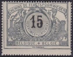 Belgie     .      OBP    .   SP   .    16       .       *    .   Ongebruikt  Met  Charnier .   /     .  Neuf * - Spoorwegen