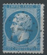 Lot N°38854  N°22, Oblit GC 177 Givonne (7), Ind 20 Ou Ars-sur-Moselle (55), Ind 4 - 1862 Napoleon III