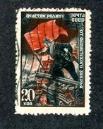 26767 Russia 1945 Michel 953 (o) Offers Welcome. - 1923-1991 UdSSR