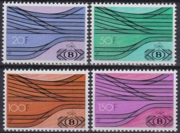 Belgie  .   OBP    .   SP   .  428/431        .   **  .    Postfris ZONDER  Charnier .   / .  Neuf  SANS Charniere - Chemins De Fer