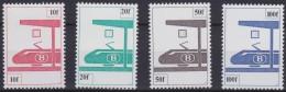 Belgie  .   OBP    .   SP   .   455/458    .   **  .    Postfris ZONDER  Charnier .   / .  Neuf  SANS Charniere - Chemins De Fer