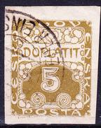 Tschechoslowakei CSSR - Portomarke (MiNr: 1) 1919 - Gest Used Obl - Timbres-taxe