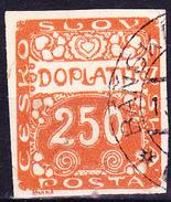 Tschechoslowakei CSSR - Portomarke (MiNr: 10) 1920 - Gest Used Obl - Postage Due
