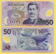 New Zealand 50 Dollars P-188b 2014 UNC - Nouvelle-Zélande