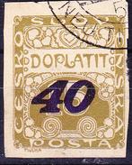 Tschechoslowakei CSSR - Portomarke (MiNr: 31) 1925 - Gest Used Obl - Postage Due