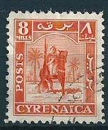 Cyrenaica 1950  Senussi-Kampfreiter  8 Mill. Mi-Nr. 6 Gestempelt/used - Altri - Africa