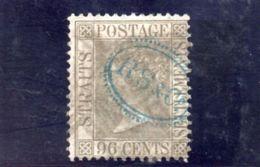 STRAIT SETTLEMENTS 1867-82 O - Straits Settlements