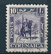 Cyrenaica 1950  Senussi-Kampfreiter  10 Mill. Mi-Nr. 7 Gestempelt/used - Altri - Africa