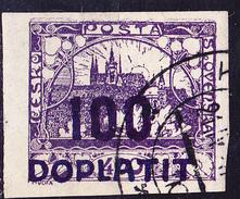 Tschechoslowakei CSSR - Portomarke (MiNr: 39) 1926 - Gest Used Obl - Postage Due
