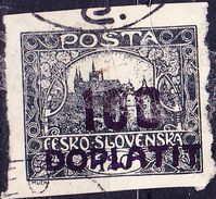 Tschechoslowakei CSSR - Portomarke (MiNr: 24) 1923 - Gest Used Obl - Postage Due