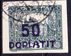 Tschechoslowakei CSSR - Portomarke (MiNr: 16a) 1922 - Gest Used Obl - Postage Due