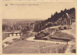 Chiny, Le Pont St Nicolas Et La Chapelle Notre Dame (pk39898) - Chiny
